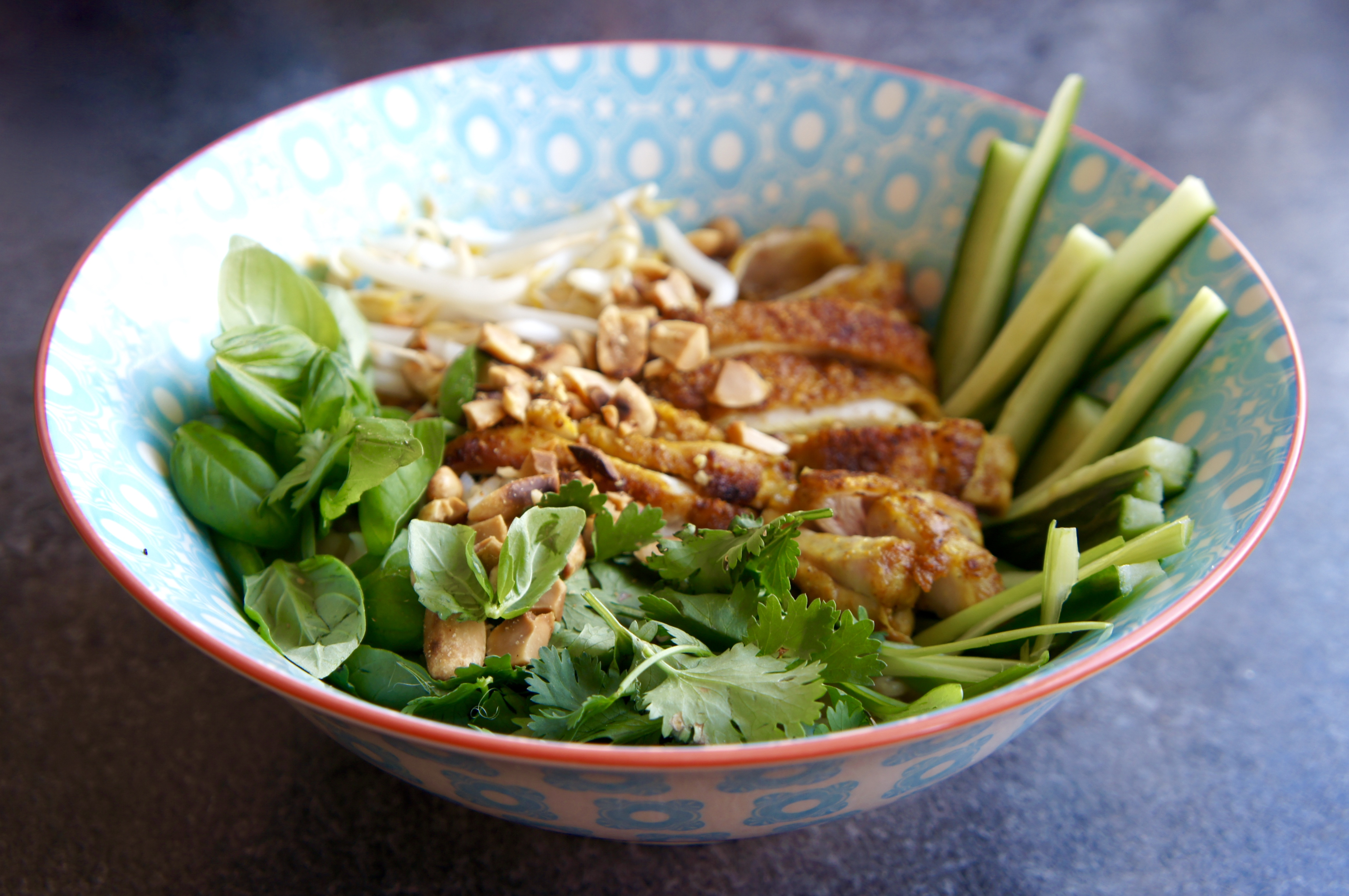 Thai Pork Rice Bowl Recipe — Dishmaps