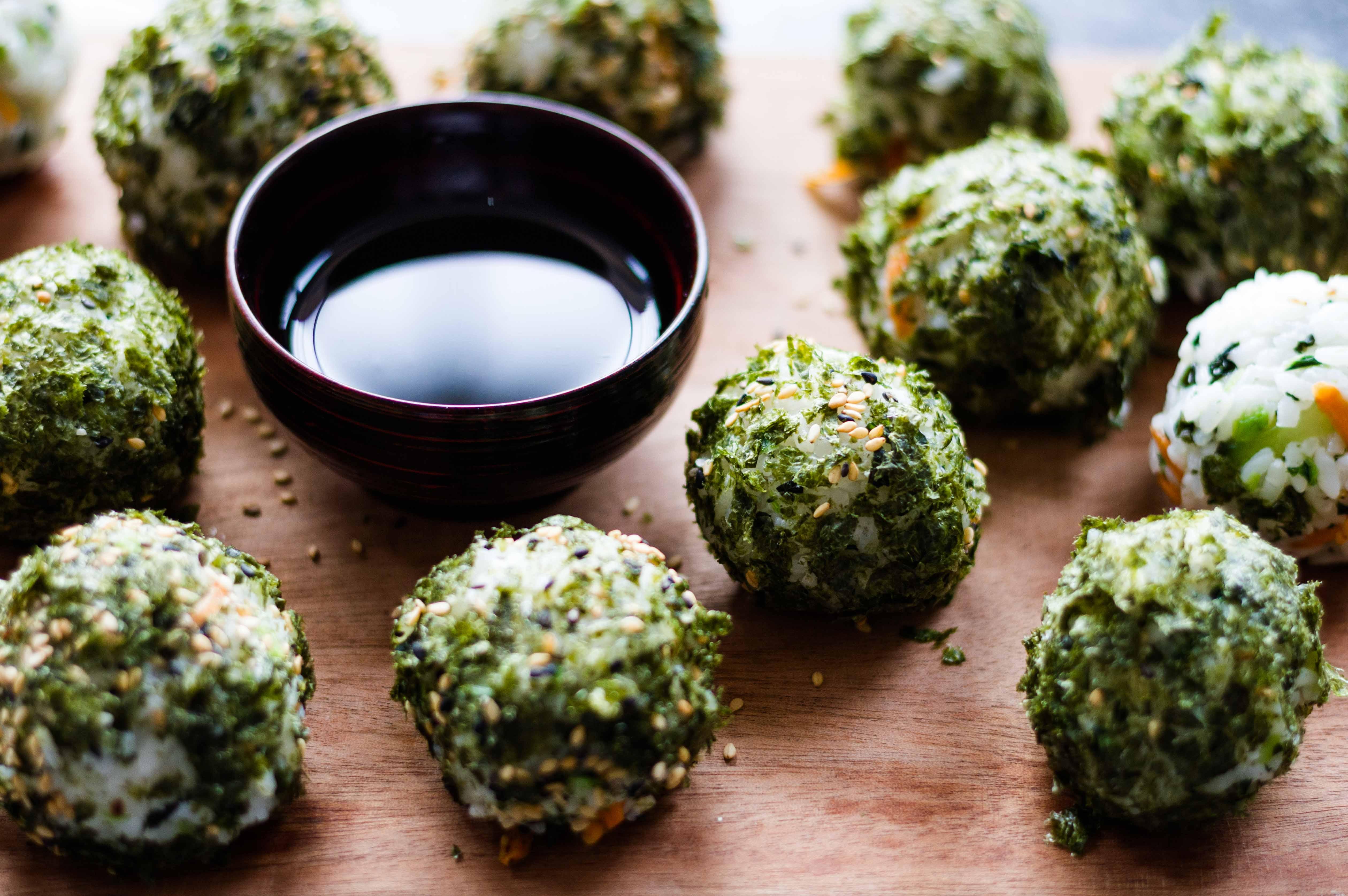 how to make korean rice balls